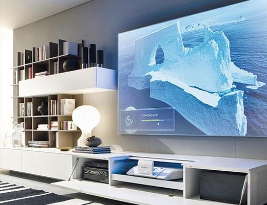 Il cinema dal tuo divano centropro - Divano con mobile incorporato ...